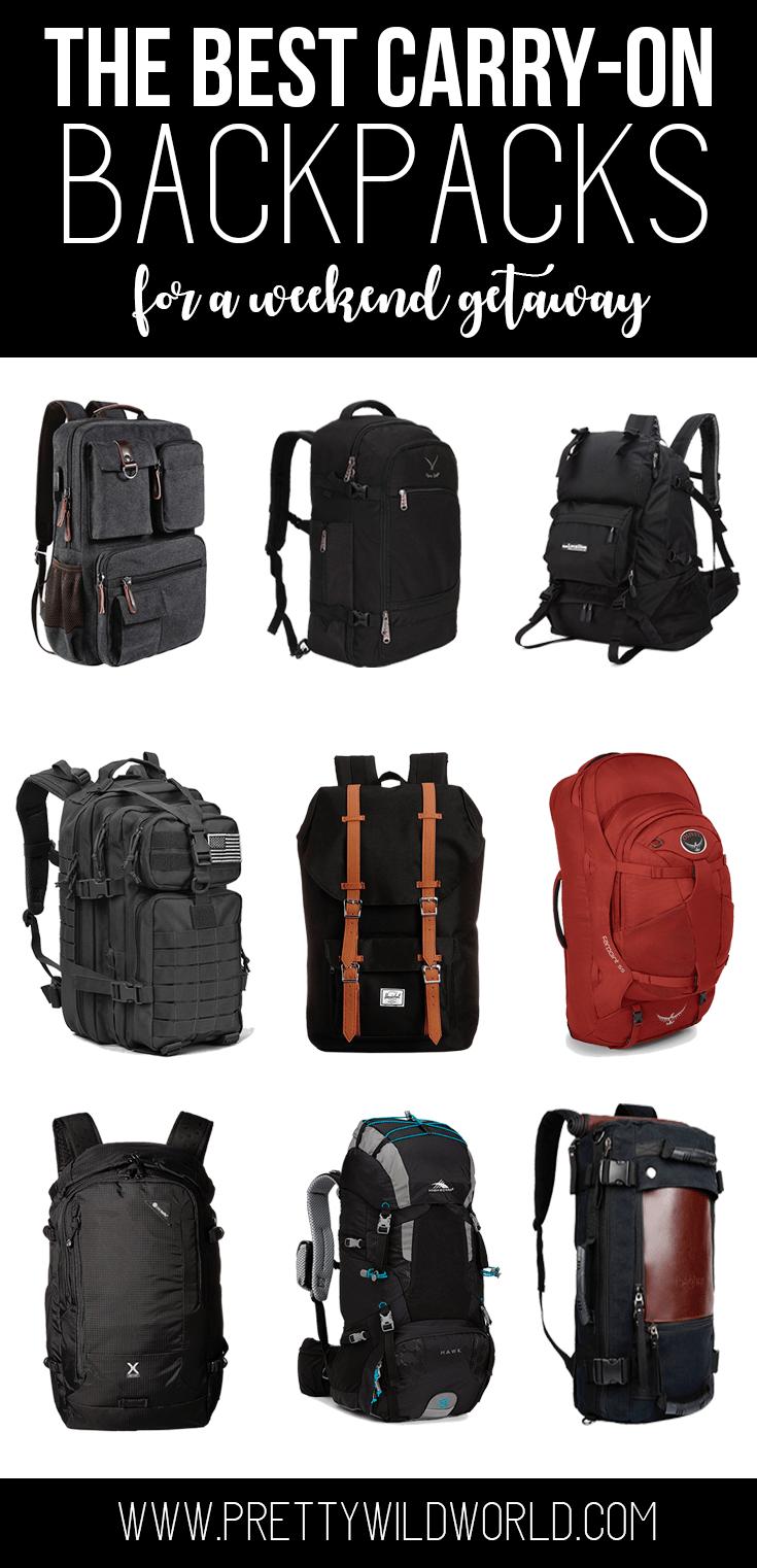 3602ef767b32 Best Carry On Backpack 2019  Top Weekender Backpack Reviews ...