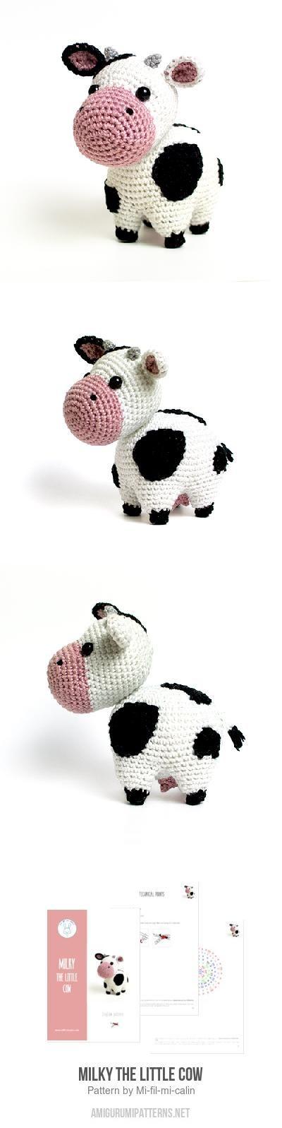 Milky the little cow amigurumi pattern | Yarny Goodness | Pinterest ...