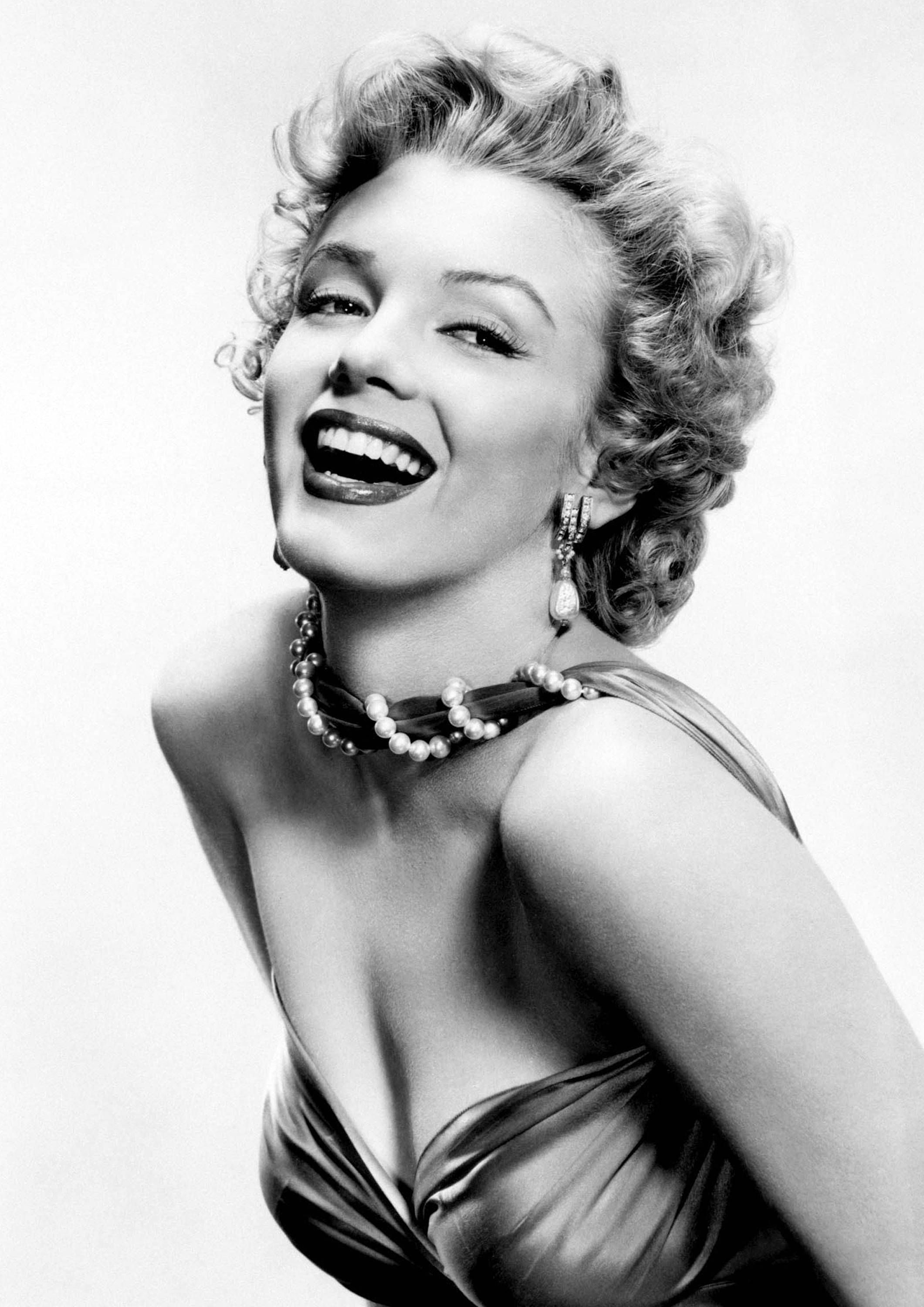 Marilyn Monroe Monochrome Photographic Print 51 (A4 Size - 210mm x ...