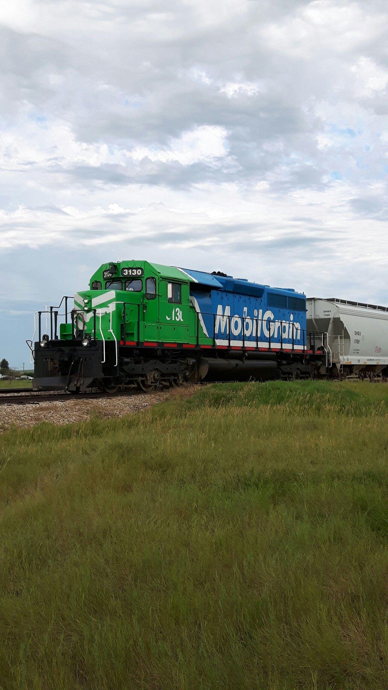 Mobil Grain. Madison Saskatchewan