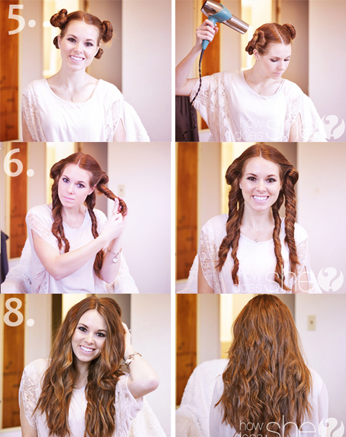 Natural Looking Beach Curls In Under 20 Minutes Hair Styles Curly Hair Styles Hair Hacks
