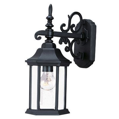 Acclaim Lighting Madison 1 Light Outdoor Wall Lantern Finish: