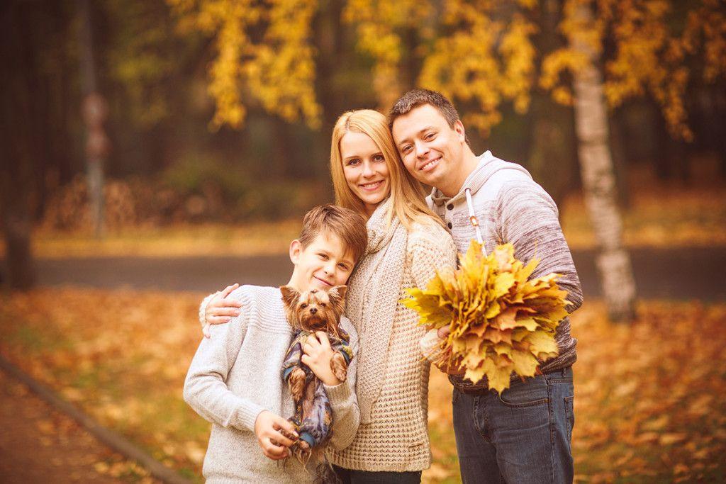 Золотая семья картинки