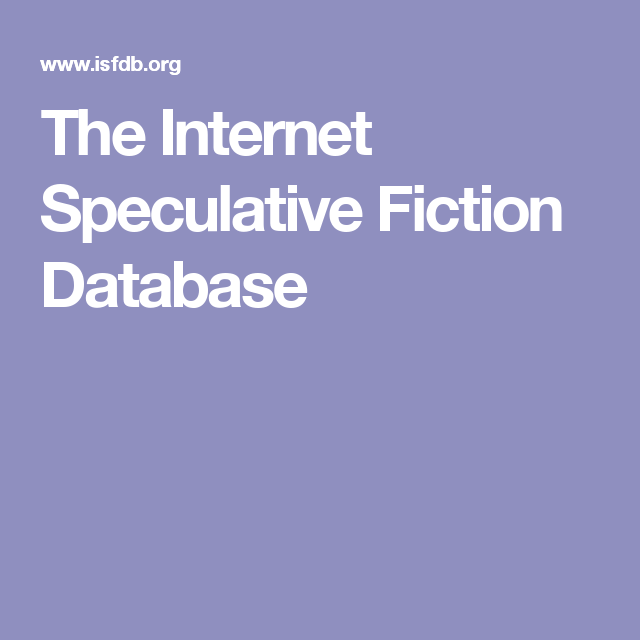 The Internet Speculative Ficti...