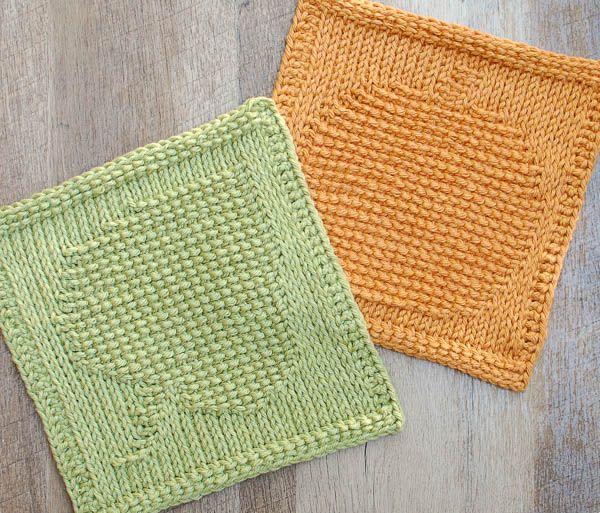 Pumpkin Tunisian Crochet Dishcloth Pattern Pinterest Tunisian