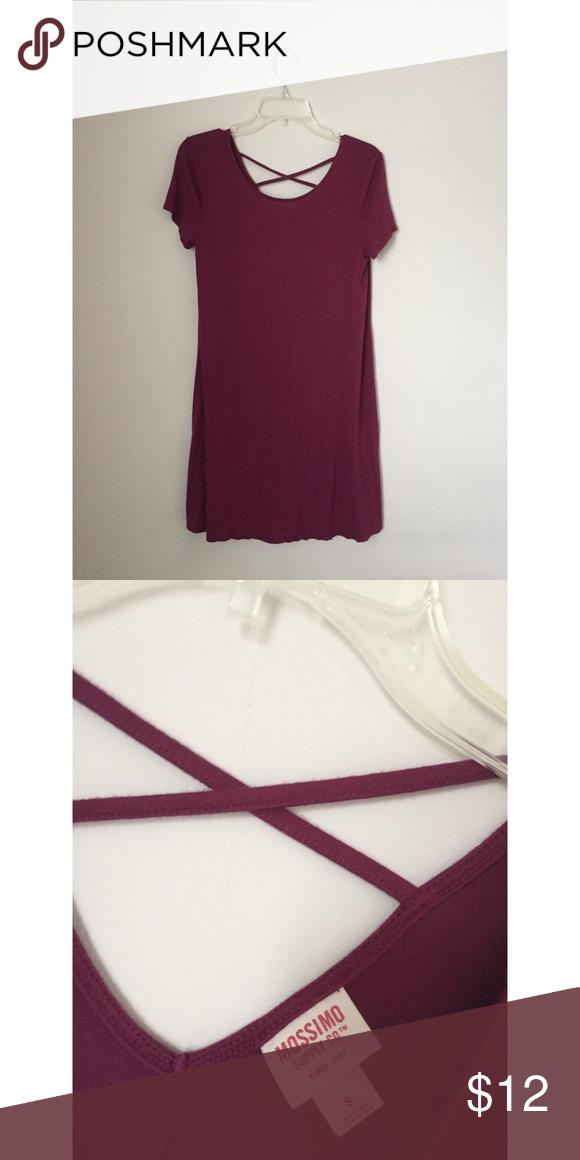 999e800d8cdb Wine colored dress t-shirt from Target