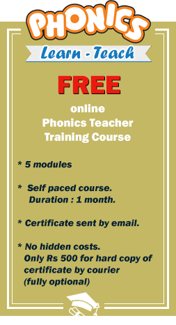 Phonics Teacher Training Course Online Certificate Course  Learn