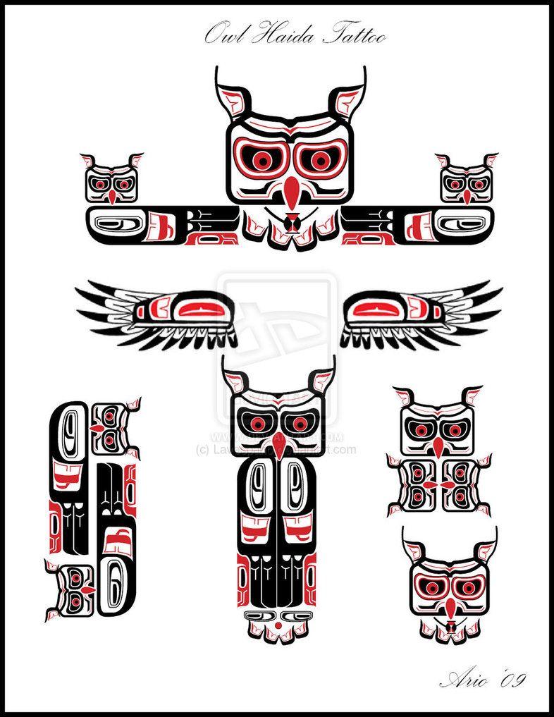 front owl tattoo design lavespario