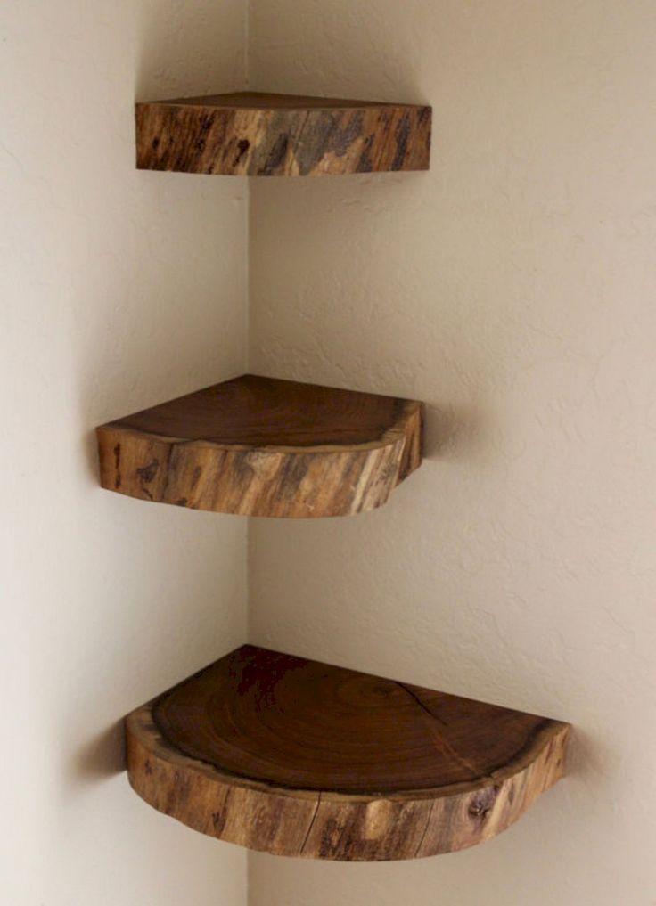 49 Clever Corner Floating Shelves www.designlisticl...  #clever #corner #designlisticl #floating #shelves #floatingshelves