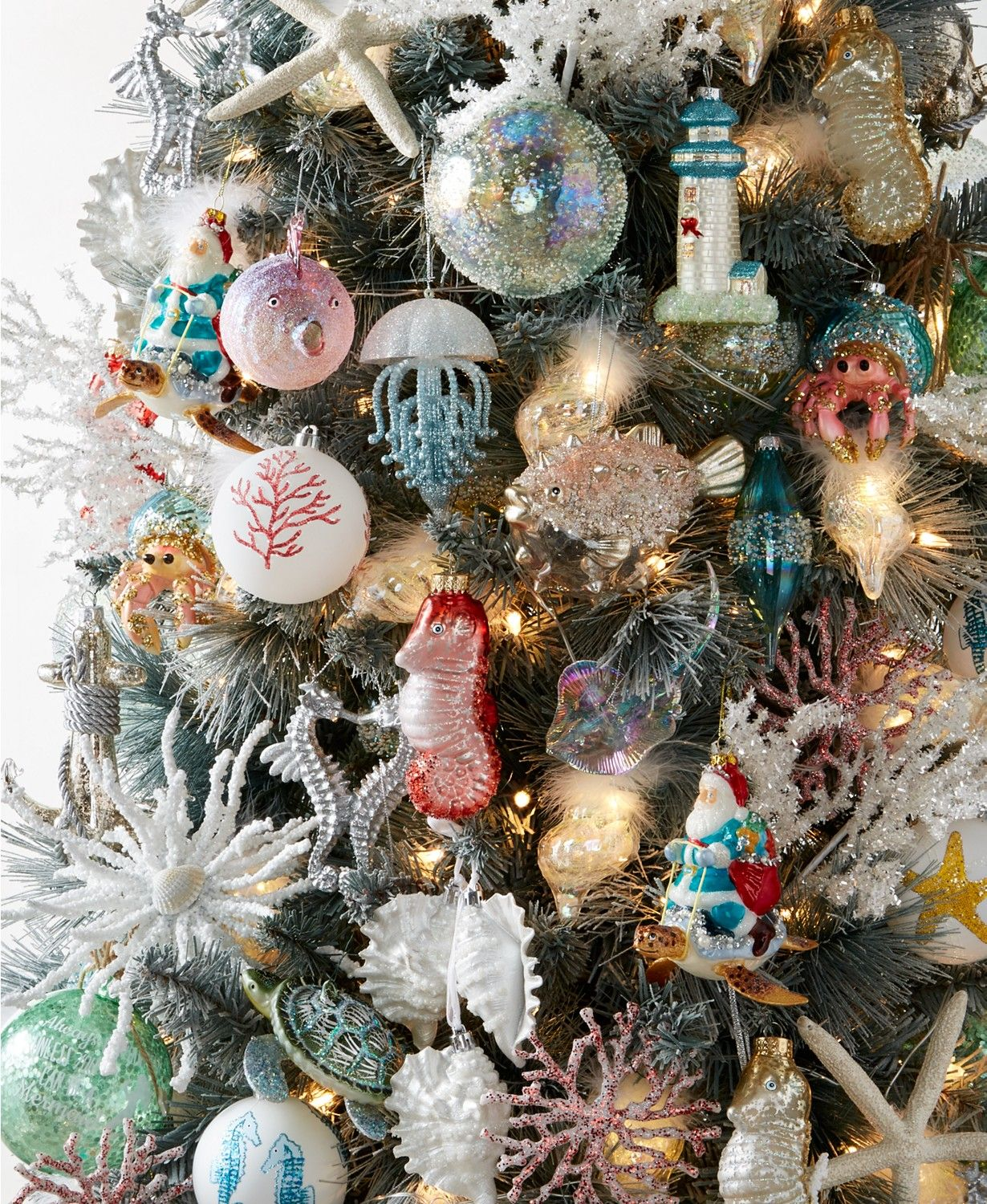 Holiday Lane Seaside Collection Created For Macy S Reviews Christmas Ornaments Home Macy S Christmas Ornaments Diy Christmas Garland Christmas Table Decorations Diy