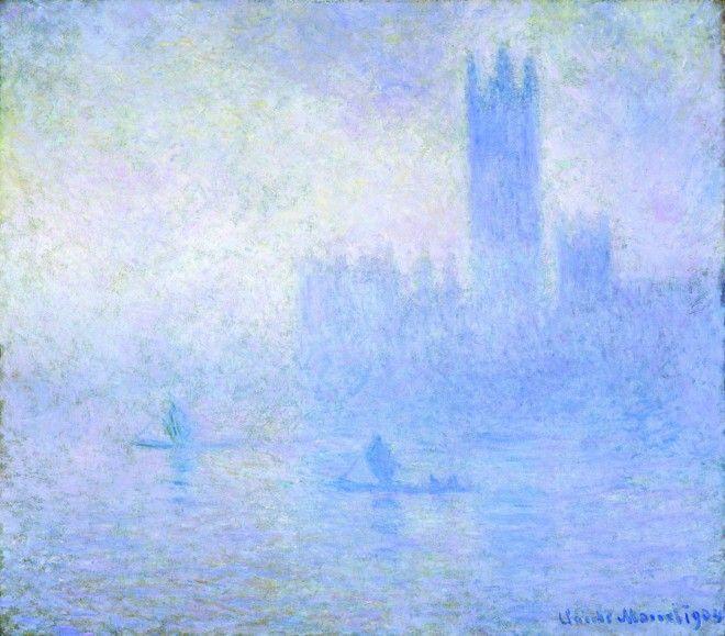 "Claude Monet (1840-1926), ""Houses of Parliament: Effect of Fog, London"" - Museum of Fine Arts ~ St. Petersburg, Florida, USA"