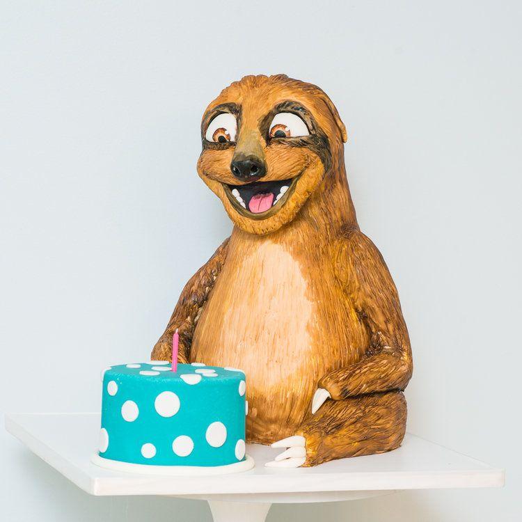Sloth birthday cake sloth birthday birthday cake kids