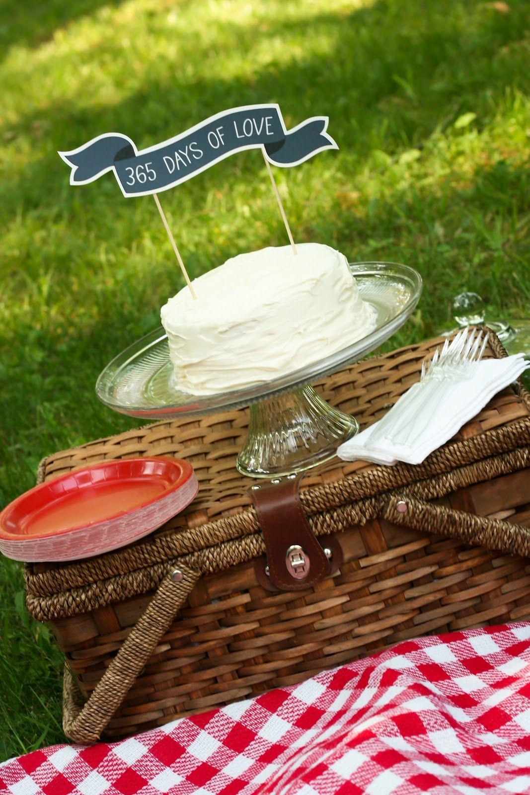 Anniversary picnic ideas