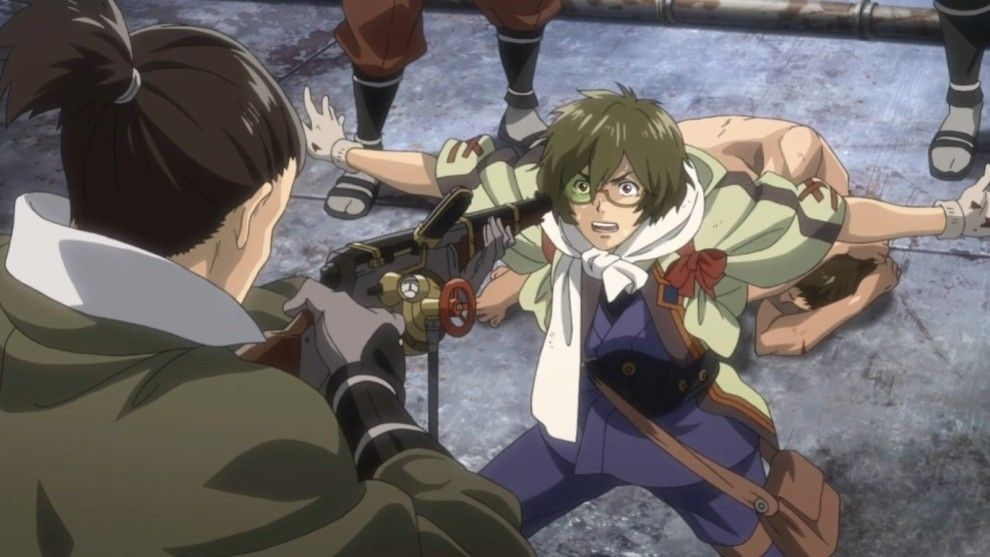 Kabaneri of the iron fortress anime good anime to watch