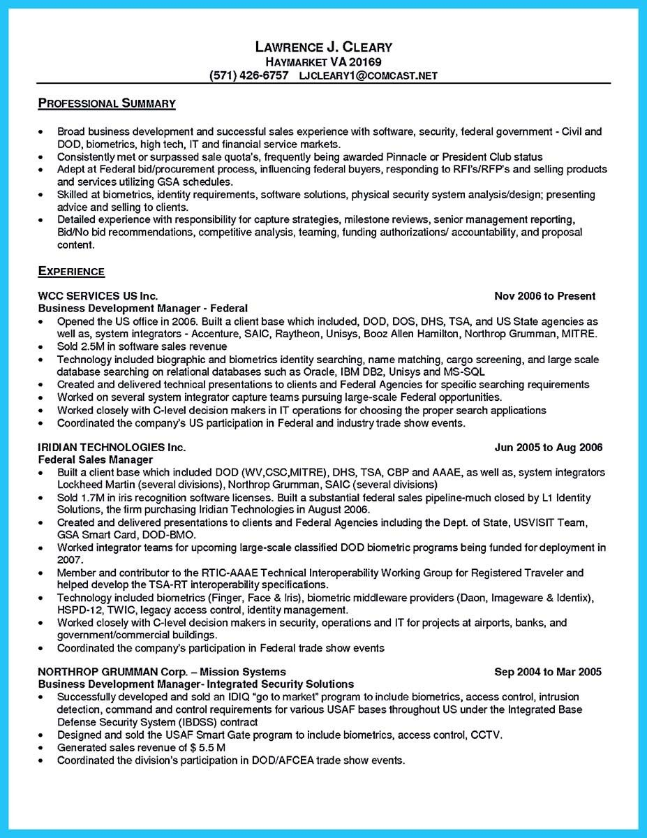 Awesome Best Words For The Best Business Development Resume And Best