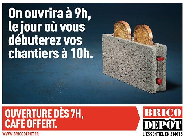 La Publicite Brico Depot Depot Et Publicite