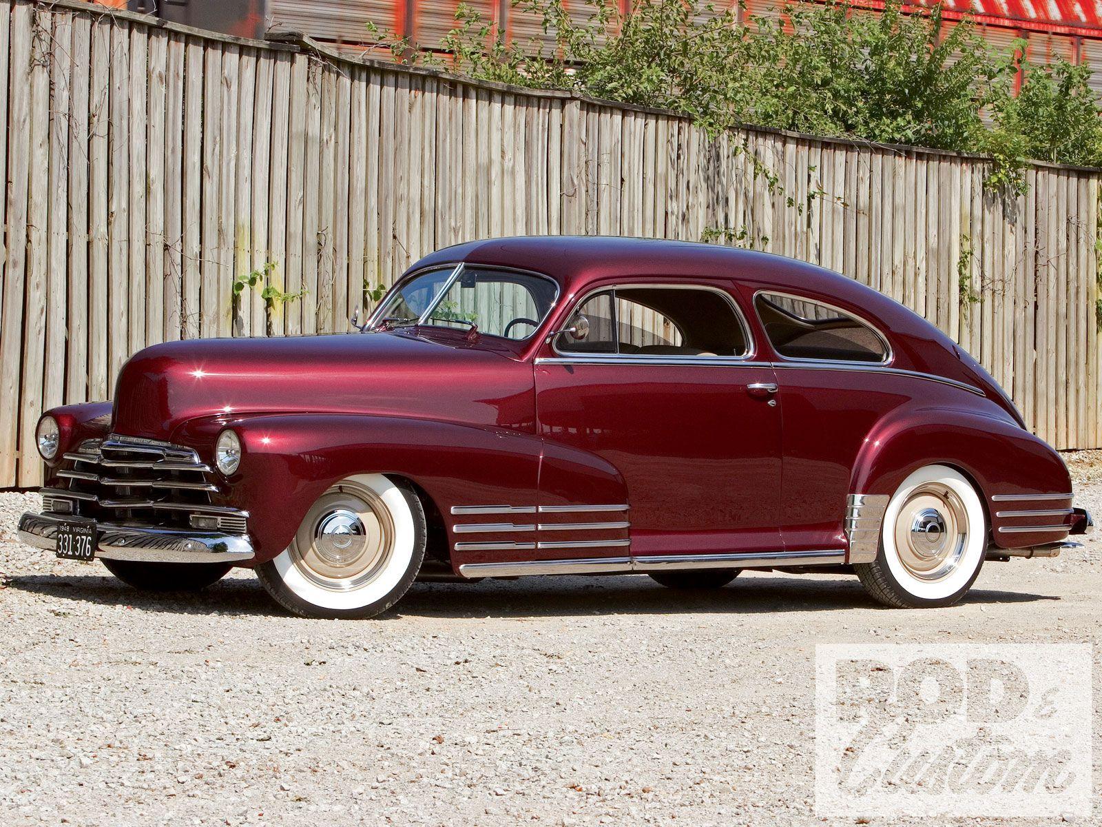 1948 Chevrolet Fleetline Aero It S Surprising What The Right