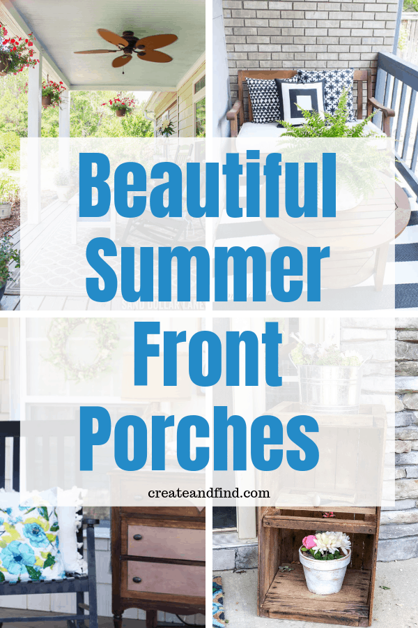 Gorgeous Front Porch Decorating Ideas You'll Love This Summer #relaxingsummerporches