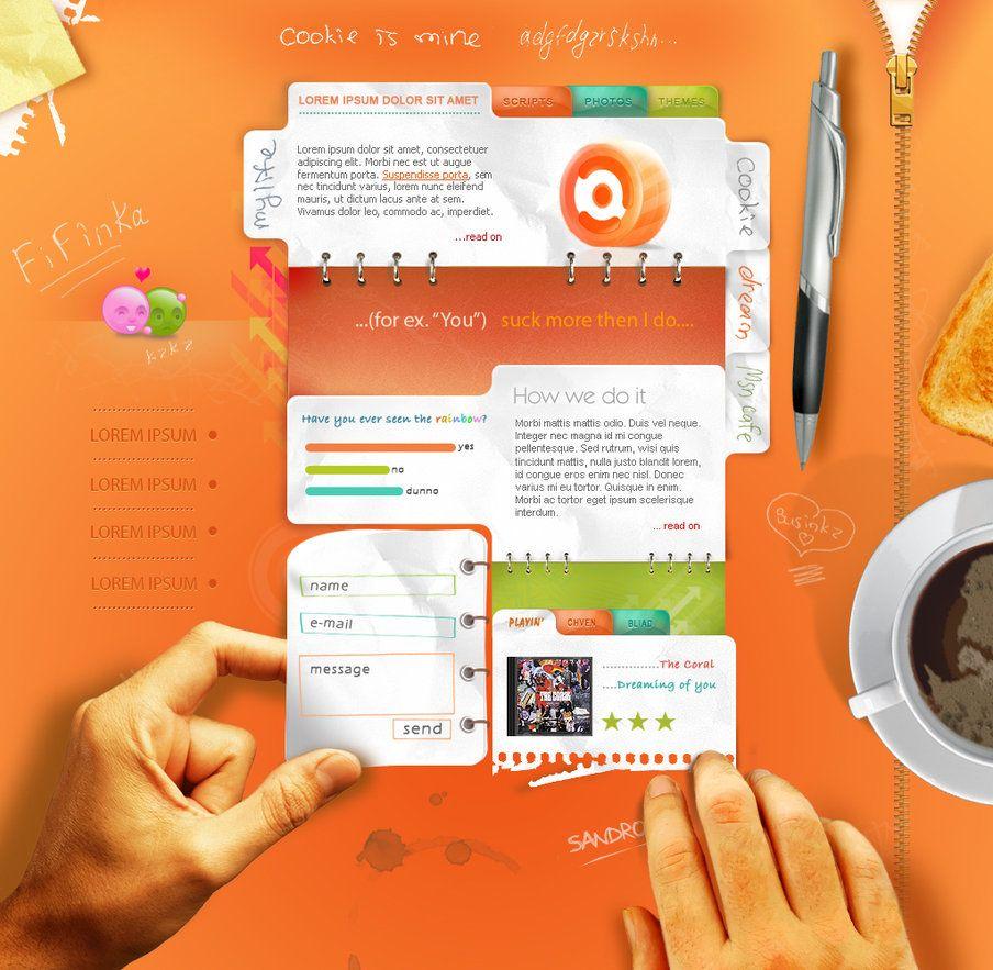 Some Web By Fedrick On Deviantart Fun Website Design Web Development Design Creative Web Design