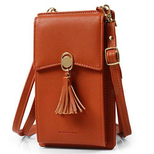 fcfa06b839e2 Pearl Angeli Cellphone Crossbody Bag for Women Small Messenger Bag ...