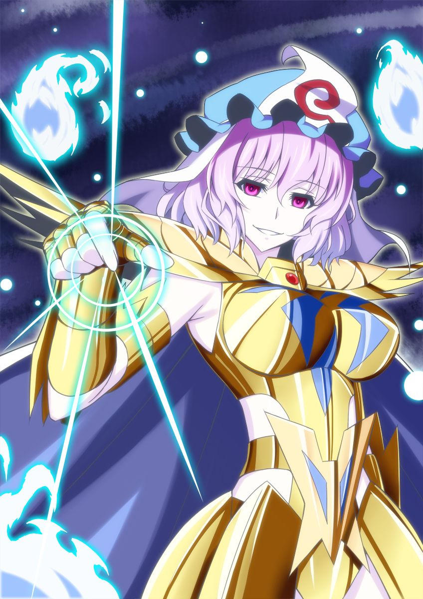 Saint Seiya - Cancer (female) crossover (Touhou)