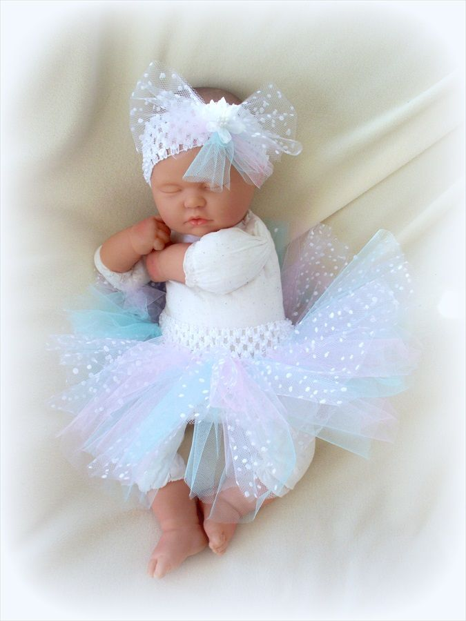 TUTU, CUTE PASTEL COLORS NEWBORN BABY GIRL 0