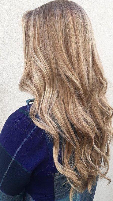 Bronze Creamy Blonde Hair Color