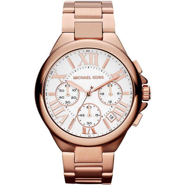 MICHAEL Michael Kors Michael Kors 'Camille' Chronograph Bracelet Watch $250