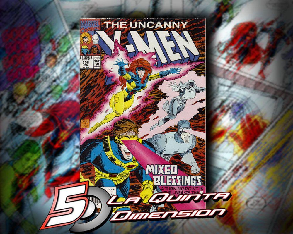 UNCANNY X-MEN # 308 DIBUJO DE JOOHN ROMITA PARA ESTE NÚMERO DEDICADO A LOS RECUERDOS DE LA RELACIÓN ENTRE JEAN Y SCOTT. $ 50.00 Para más información, contáctanos en http://www.facebook.com/la5aDimension