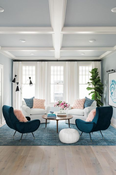 Living Room Pictures From HGTV Urban Oasis 2017 | Pastell