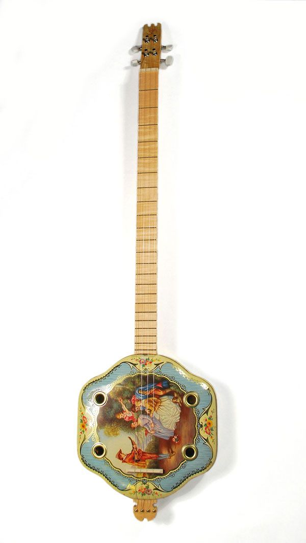 Troubadour Canjo This Guitar Was Hand Made By String Tinkers