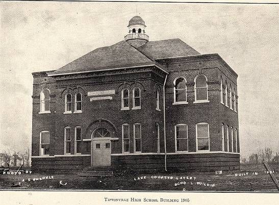 Tiptonville High School 1905 Somewhere In Time High School Lake