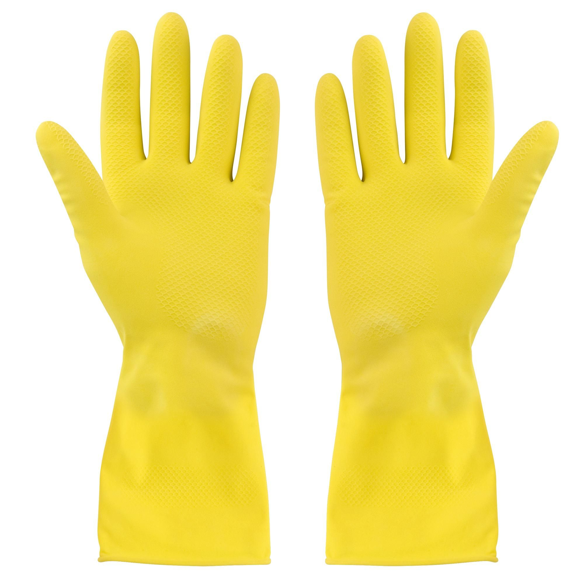 Medium Rubber Gloves In 2020 Rubber Gloves Cleaning Gloves