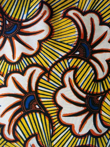 African Wax Print Fabrics I Could Do A Brush Embroidery Pattern On