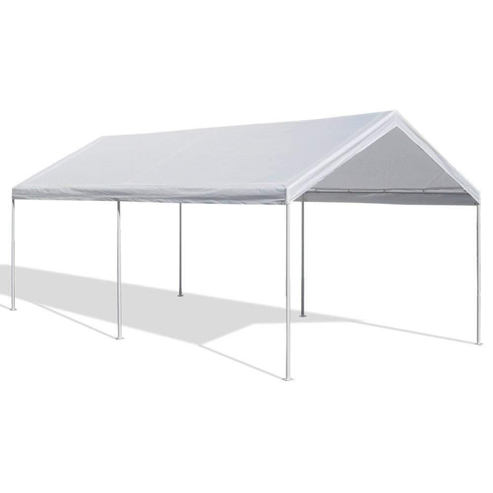 Portable Garage Caravan Canopy Car Shelter 10 X 20 Feet Domain Carport Gazebo Caravancanopy Carport Canopy Canopy Tent Canopy Shelter