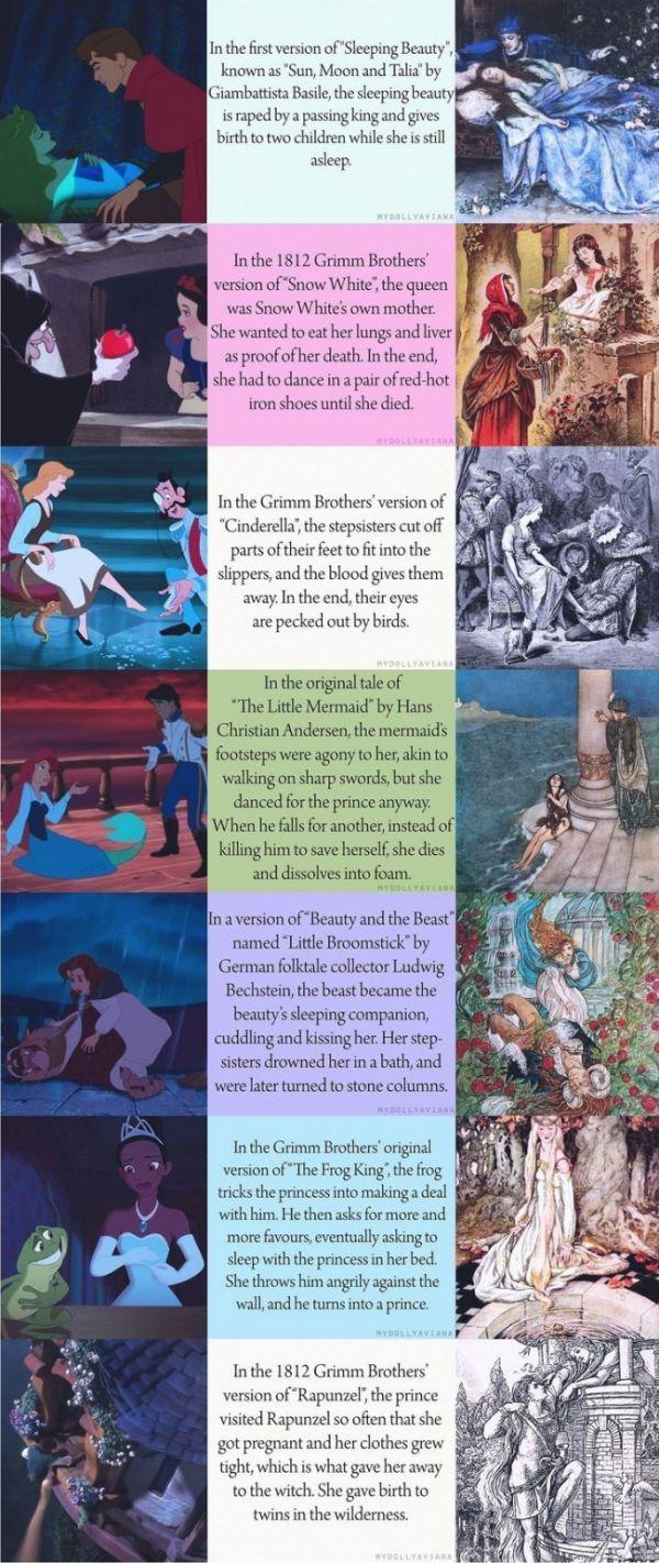 When Fairy Tales Weren't For Kids