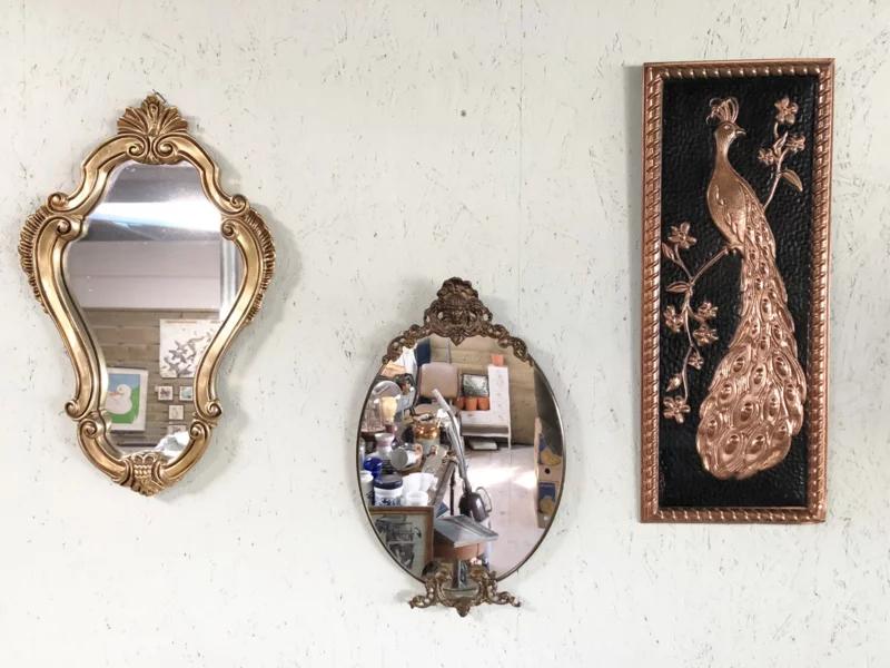 Diverse Vintage Spiegels Wanddecoratie Gaafinhuis Vintage Spiegels Spiegel Vintage