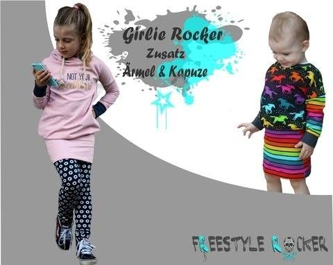 Photo of * Freestyle Rocker * Girlie Rocker * Additional sleeves & hood …