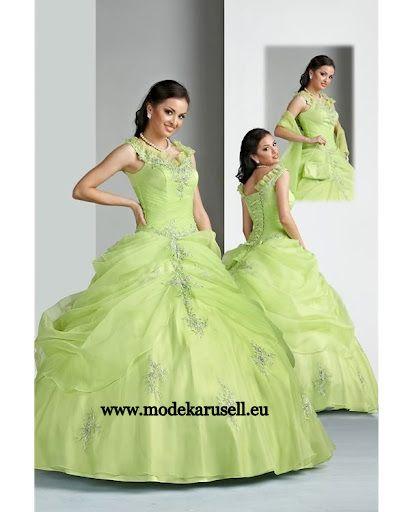 Ballkleid Abendkleid Brautkleid in Mint Grün www.modekarusell.eu ...