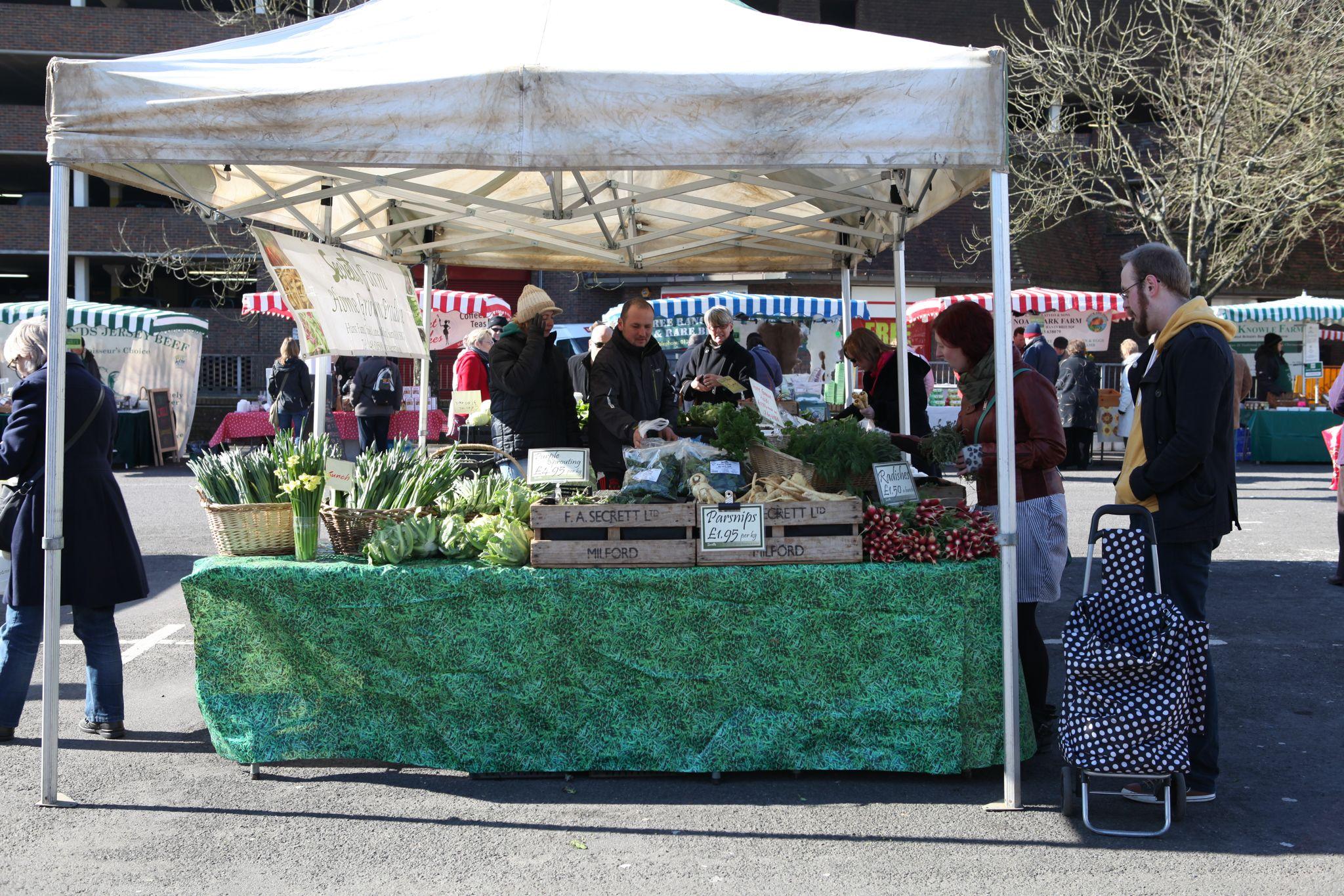 Personal - Hampshire farmers market