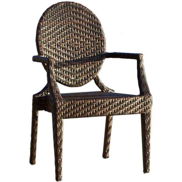 Home Loft Concept Giesel PE Wicker Outdoor Chair II found on ...