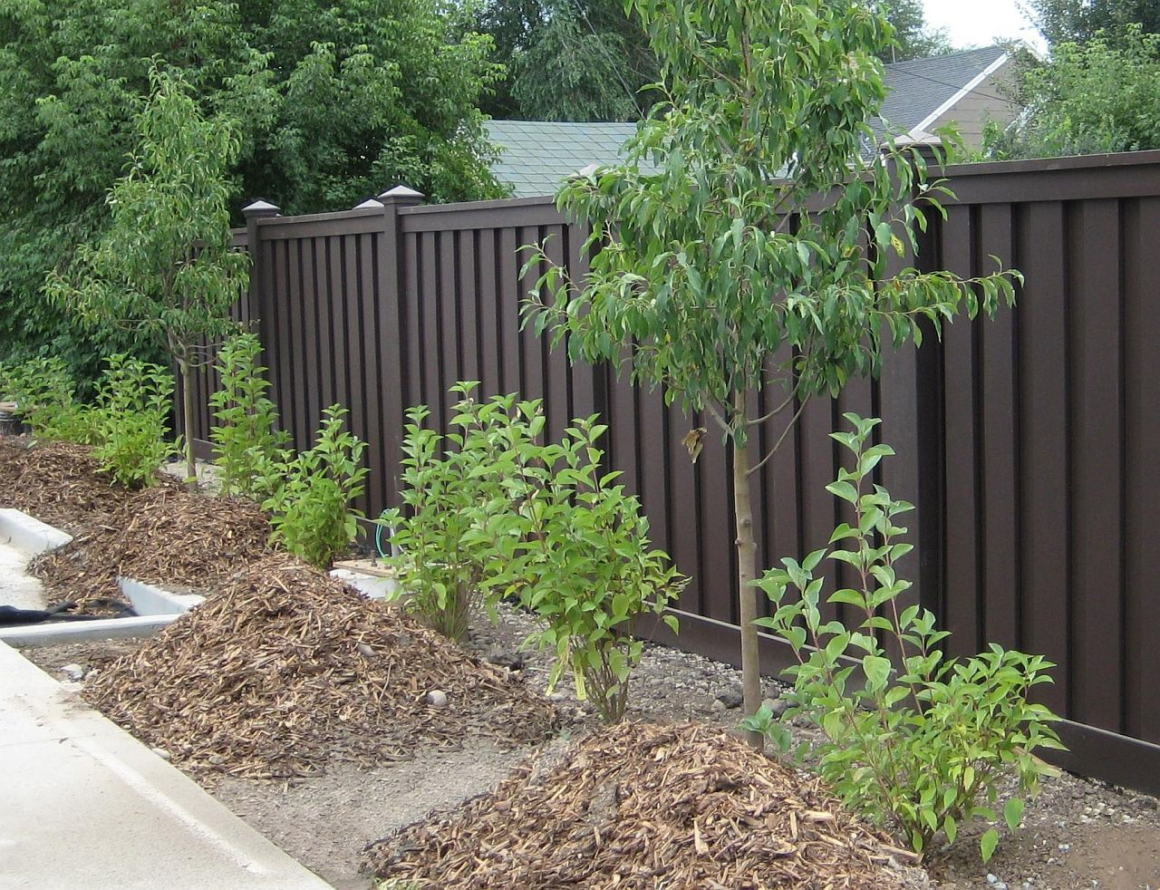 Different Types Of Yard Fences Semi Private Fence