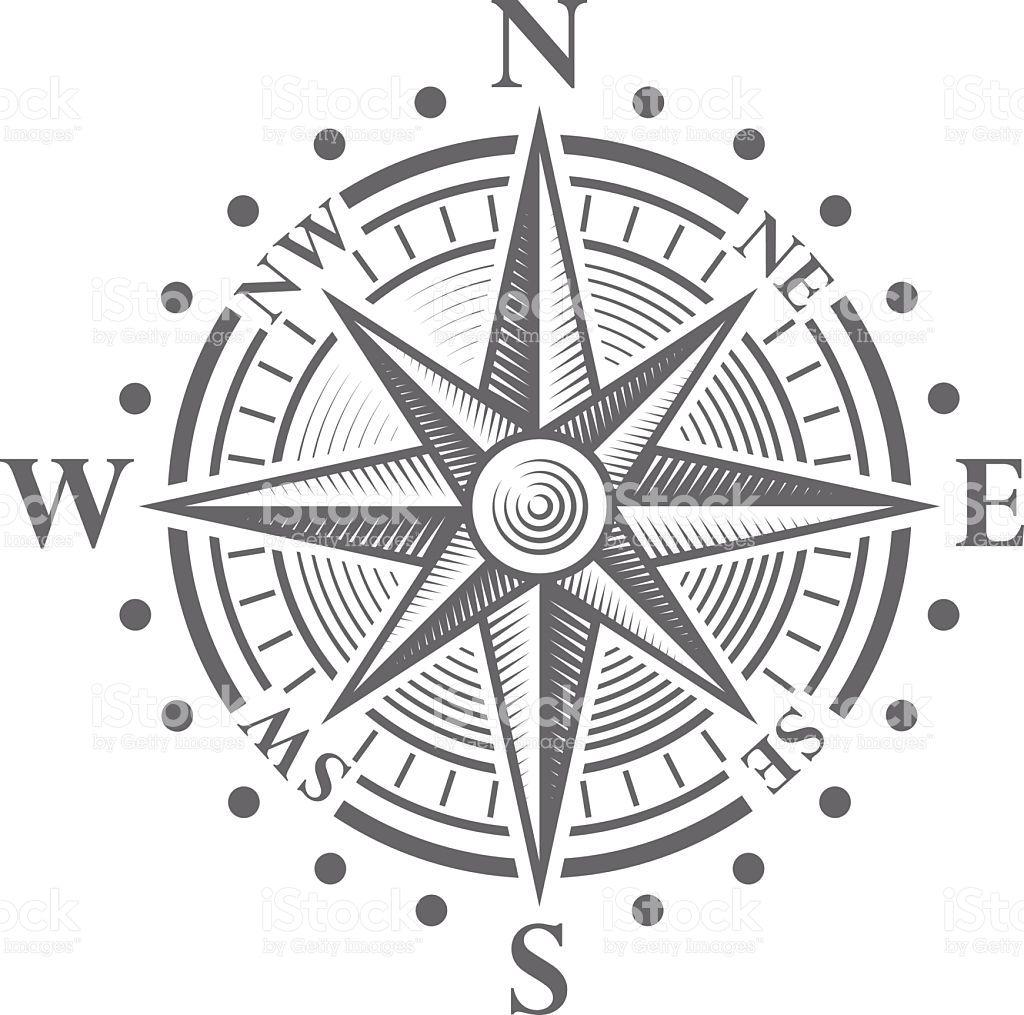 Vector Compass Rose Royalty Free Stock Vector Art