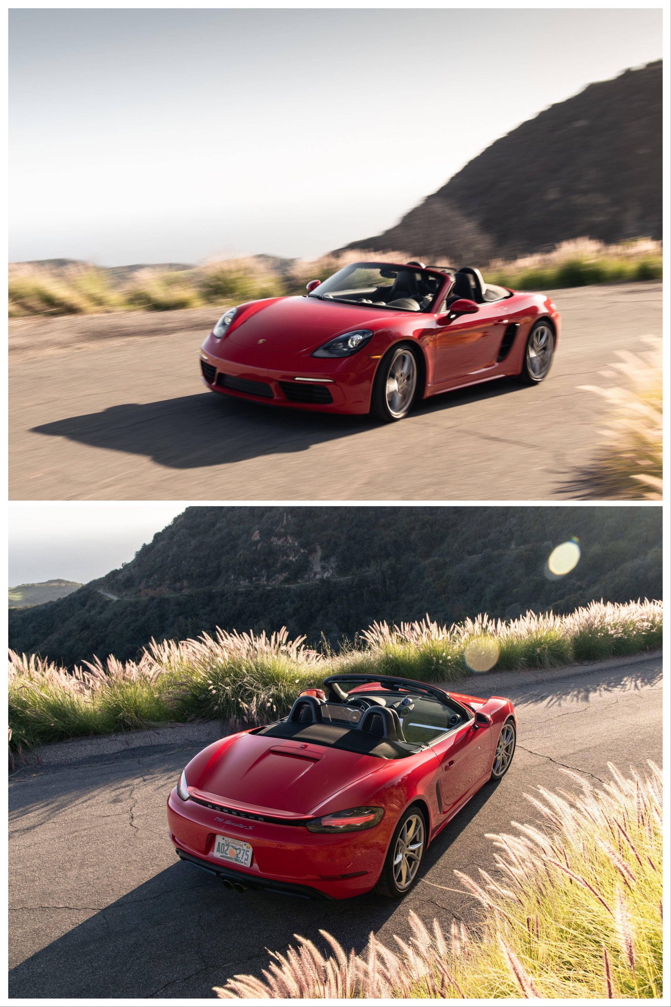 The 2020 Porsche 718 Boxster S is the sports car