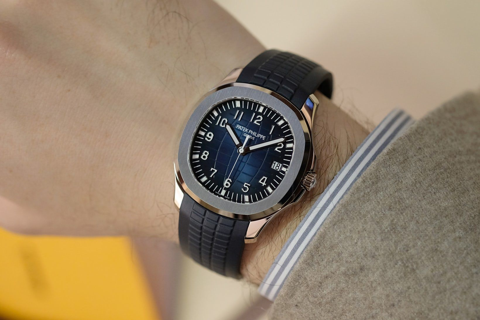 Introducing The Patek Philippe Ref 5168g 20th Anniversary Aquanaut