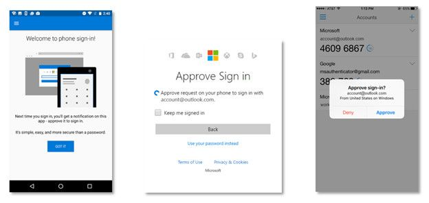 You can now sign into a Microsoft Account without a