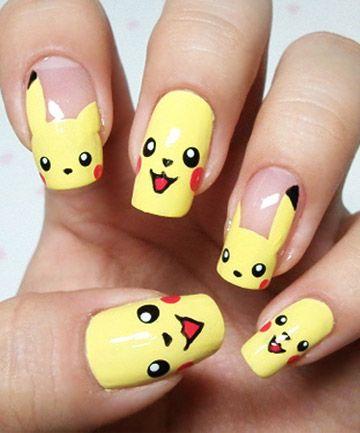 The Best Pokemon Nails for Pokemon Go Fans