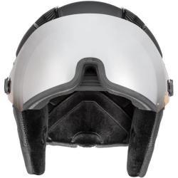 Photo of Uvex hlmt 600 visor ski and snowboard helmet black 57-59cm Uvex SafetyUvex Safety