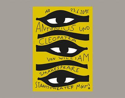 Empfohlenes Behance Projekt Poster For Staatstheater Mainz