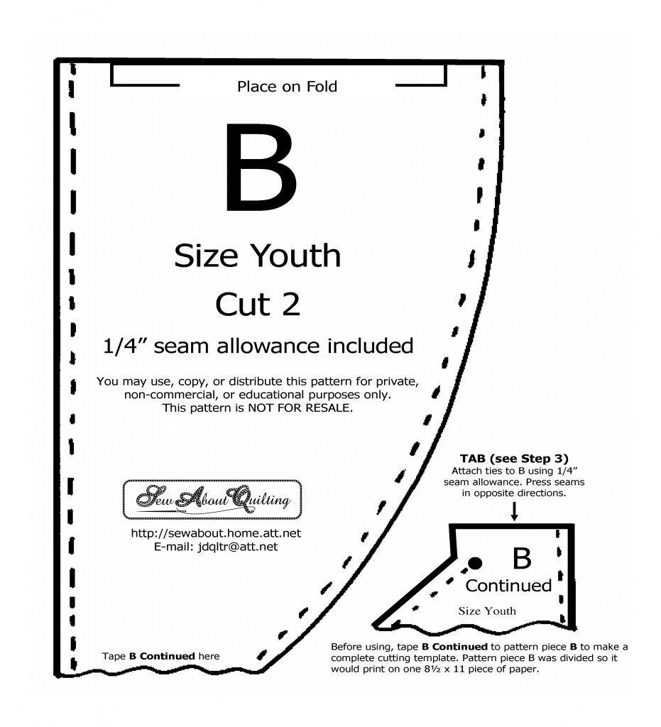 Sewn, reversible chemo hat To download a printable pdf